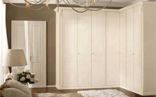 Обзор шкафов угловых распашных, нюансы выбора