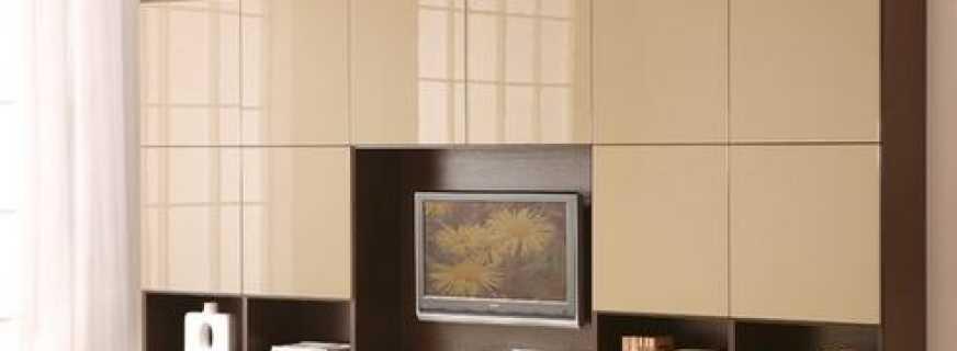 Варианты мебельных фасадов для шкафов, правила выбора