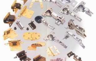 Виды комплектующих для мебели, их назначение и методы установки