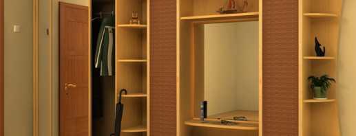 Какая бывает мебель в коридор, фото примеров прихожих
