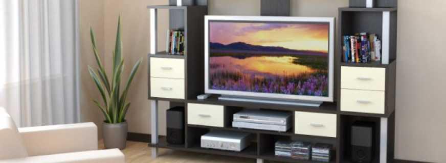 мебель под телевизор в гостиную на что обратить внимание при выборе