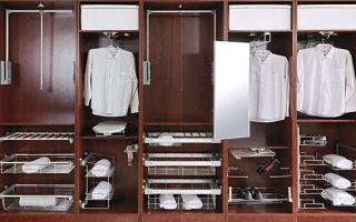 Обзор фурнитуры для шкафа, на что обратить внимание при выборе