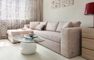 Сочетание бежевого дивана с разными стилями интерьера