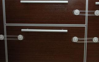Особенности защиты от детей для ящиков и шкафов, правила выбора