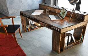 Пошаговое изготовление простого письменного стола из ДСП своими руками