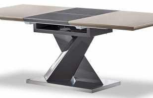 Особенности конструкции раздвижного стола, изготовление своими руками