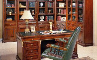Обзор мебели для кабинетов, основные критерии выбора, важные нюансы
