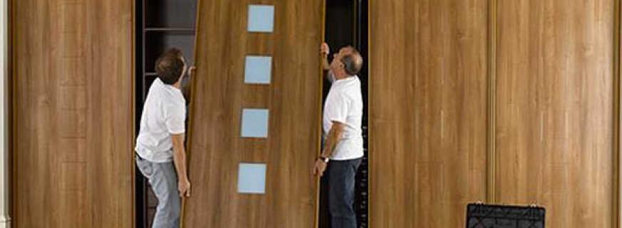 Как изготовить своими руками хороший шкаф купе, полезные советы