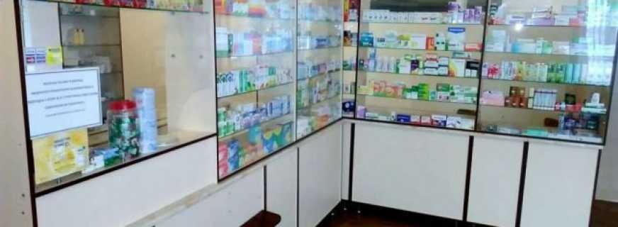 Варианты аптечной мебели, важные нюансы и критерии выбора