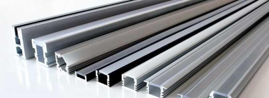 Назначение мебельного алюминиевого профиля, критерии выбора