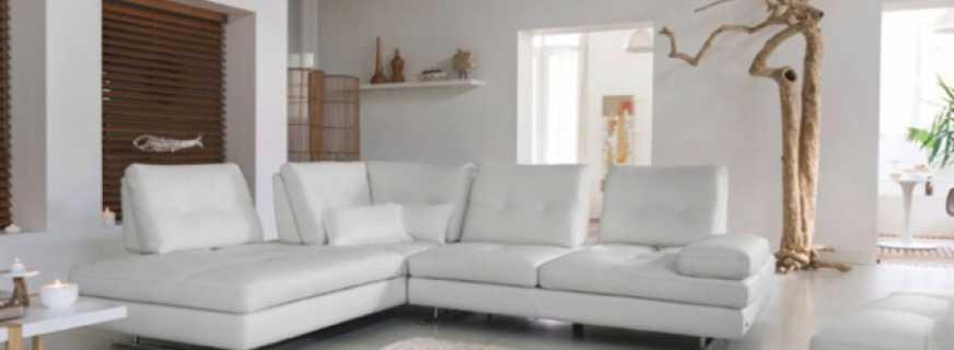 Мебель в гостиную в белом цвете, какие есть варианты