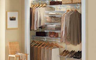 Как разместить гардеробную в кладовке хрущевки, фото вариантов
