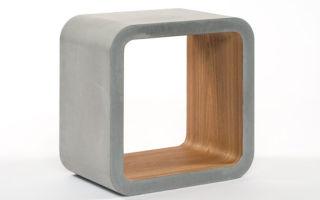 Особенности бетонной мебели и ее возможные варианты