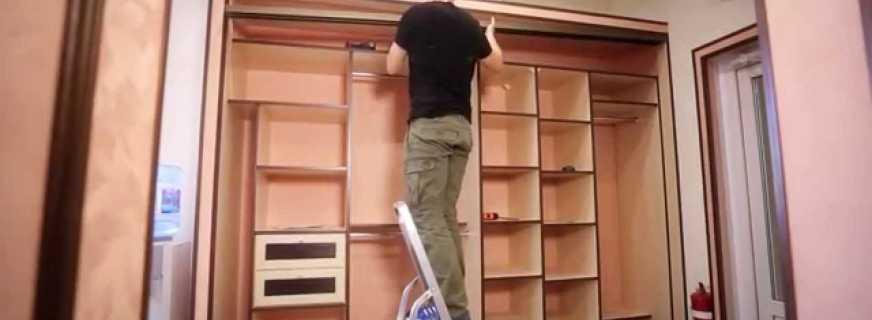Изготовление встроенного шкафа своими руками, полезные советы