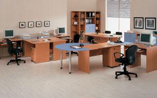 Варианты офисной мебели, обзор моделей
