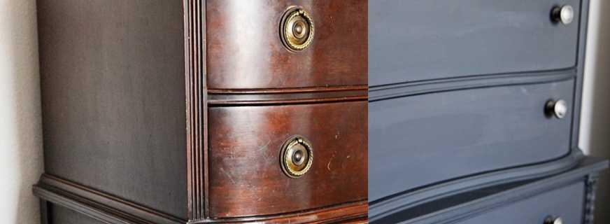 Методы покраски мебели с учетом всех нюансов, основные этапы работ