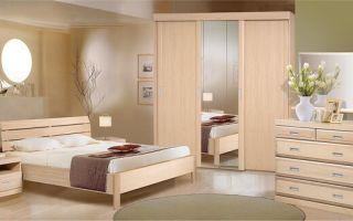 Виды мебели для спальни, обзор моделей