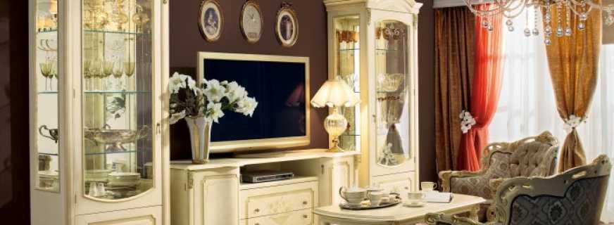 Особенности выбора шкафов витрин в гостиную, существующие варианты