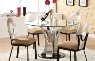 Варианты стеклянной мебели, ее особенности и эксплуатационные качества