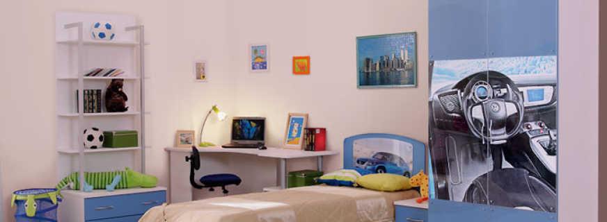 Правила выбора шкафа для детской комнаты мальчика, какой лучше