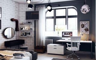 Обзор мебели в подростковую комнату мальчика, правила по выбору