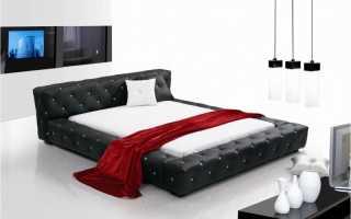 Обзор кожаных кроватей, что учесть для долгого срока службы