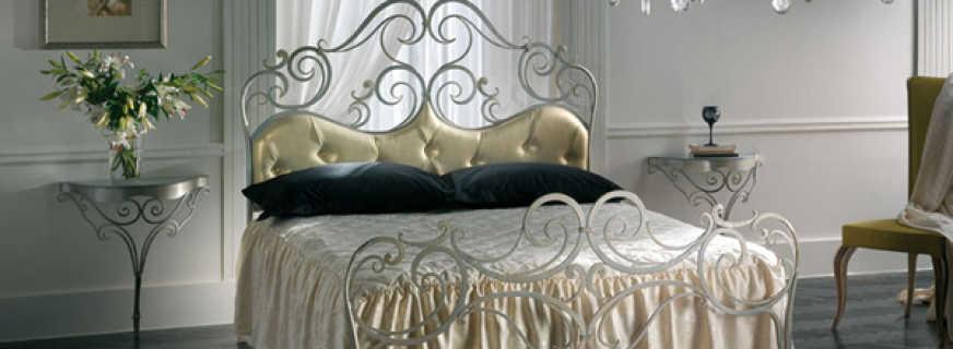 Особенности кованой мебели в интерьере