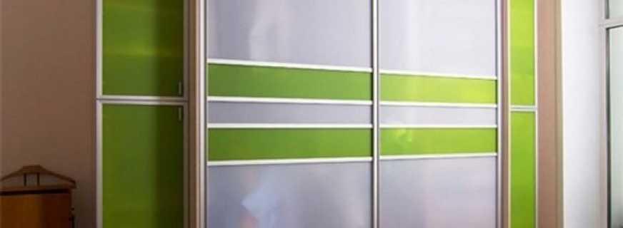 Правила расчета для дверей шкафов купе, основные моменты