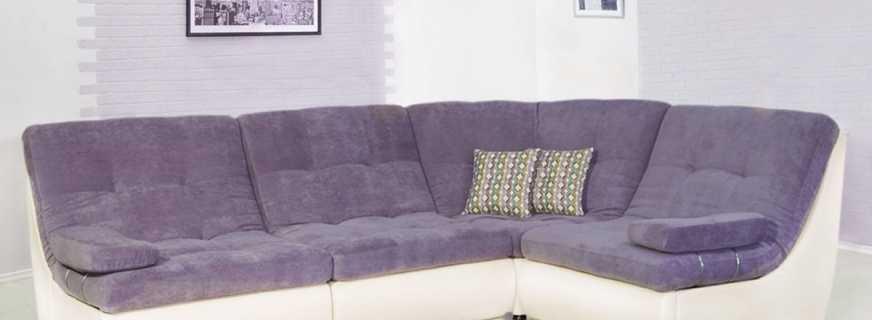Угловой диван в интерьере, выбор по размеру, материалам изготовления