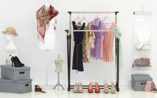 Какие бывают вешалки для гардеробной, обзор моделей