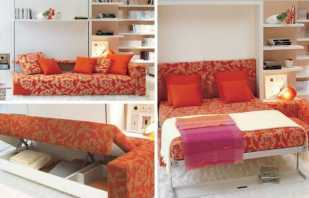 Рейтинг полезных видов мебели трансформер