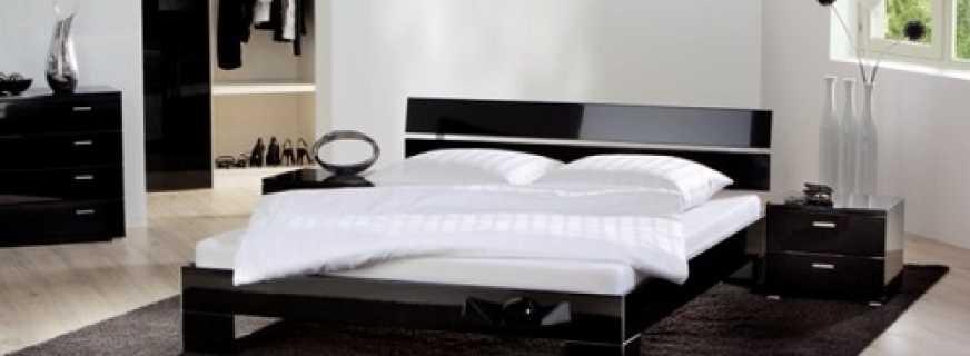 Популярные модели кроватей выполненных в стиле хай-тек, как сочетать в интерьере