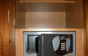 Обзор мебельных сейфов, конструктивные особенности и варианты установки
