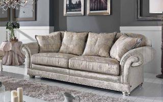 Какие существуют варианты мягкой мебели в гостиную