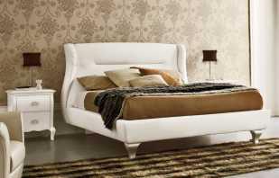 Итальянская кровать с мягким изголовьем, воплощение стиля и комфорта