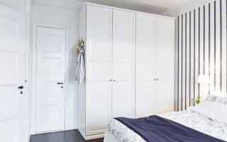 Какие существуют белые шкафы для спальни, советы по выбору