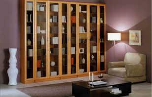 Существующие узкие книжные шкафы, и правила выбора