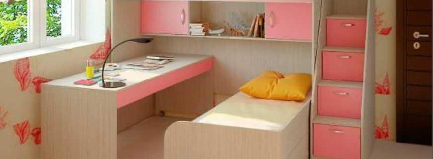 Как выбрать детскую мебель для двоих девочек, советы и рекомендации