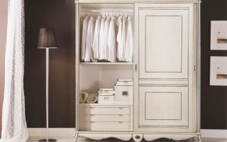 Какие бывают шкафы прованс, обзор моделей