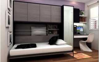 Полный обзор моделей откидных кроватей и способов их трансформации
