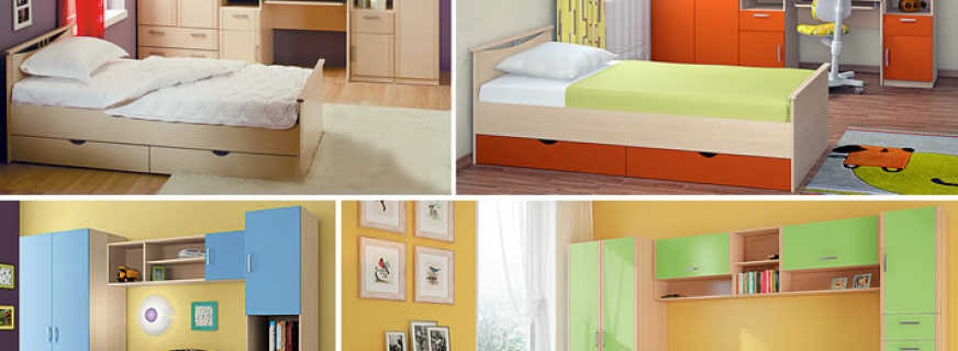 Какие существуют наборы мебели в детскую, что обязательно должно быть