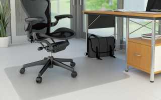 Формы и размеры ковриков под кресло, основные критерии выбора