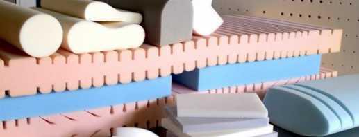 Свойства качественного поролона для дивана, его разновидности и марки