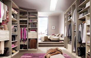 Оформление гардеробной в спальне, советы специалистов