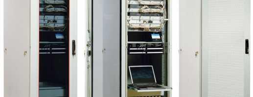 Какие существуют телекоммуникационные шкафы, обзор моделей