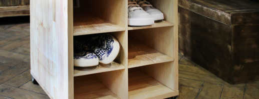 Как сделать своими руками тумбу под обувь, советы специалистов