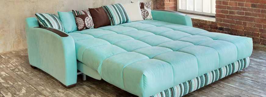 Преимущества ортопедического дивана для ежедневного сна, разновидности