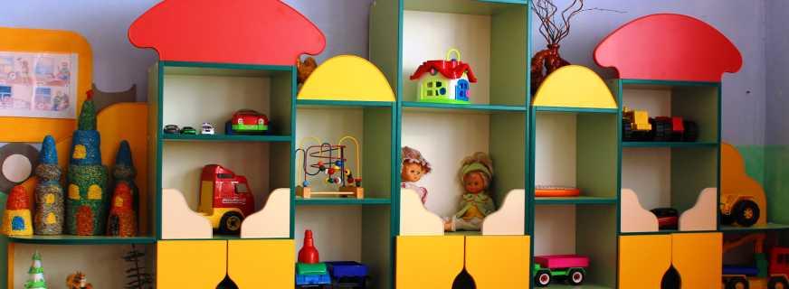 Маркировка мебели в детском саду по цвету санпин