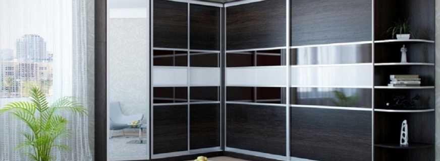 Какие существуют угловые шкафы для гостиной, обзор моделей