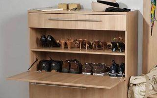 Какие бывают комоды под обувь, обзор моделей